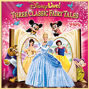 "Disney Live! Three Classic Fairy Tales @ <a href=""http://sanjosetheaters.org/theaters/city-national-civic/"">City National Civic</a> 