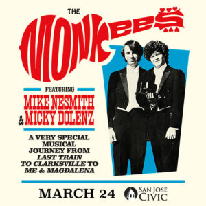 An Evening With The Monkees @ San Jose Civic | 135 West San Carlos Street, San Jose, CA 95113 | United States
