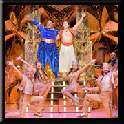 "Disney's Aladdin - Broadway San Jose @ <a href=""https://sanjosetheaters.org/theaters/center-for-performing-arts/"">Center for the Performing Arts</a> 