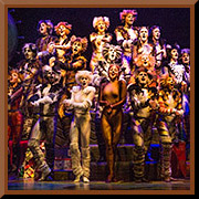 """Cats - Broadway San Jose @ <a href=""""https://sanjosetheaters.org/theaters/center-for-performing-arts/"""">Center for the Performing Arts</a>   <h5>255 Almaden Blvd., San Jose, CA 95113</h5>"""