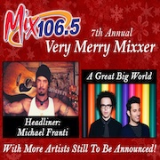 "Mix 106.5's Very Merry Mixxer 2015 @ <a href=""http://sanjosetheaters.org/theaters/city-national-civic/"">City National Civic</a> 